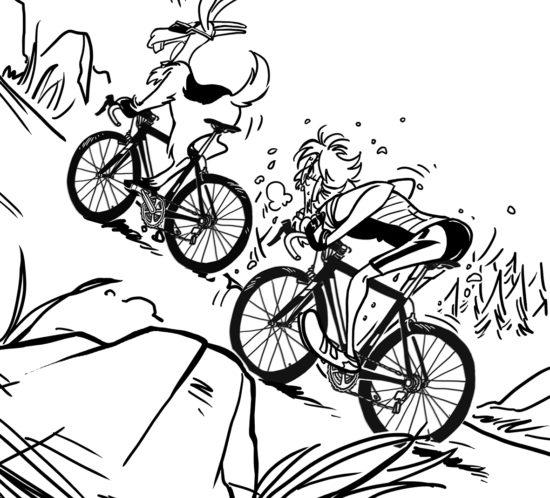 Decalogo semiserio di un ciclista anomalo